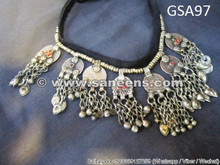 afghan nomad vintage jewelry necklace