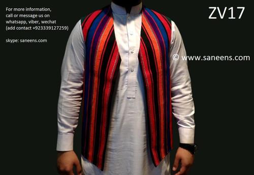 afghan vest, pathan gents waistcoat