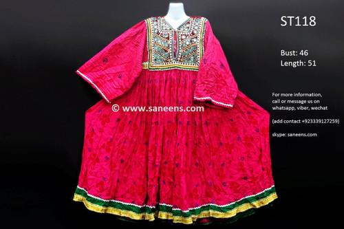 afghan clothes, vintage pashtun dress