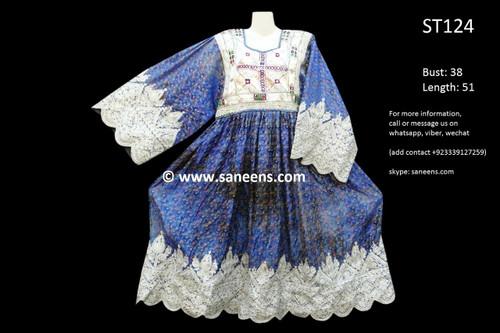 afghan clothes, gypsy vintage dress