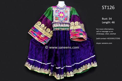 afghan clothes, kuchi fashion vintage dress