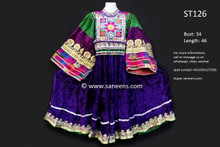 afghan clothes, kuchi fashion vintage dress