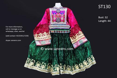 afghan clothing, vintage kuchi frock