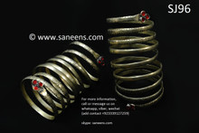 afghan jewelry, kuchi tribal artwork bangles