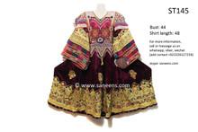 afghani dress, vintage kuchi outfit