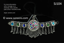 afghan jewelry, kuchi headdress