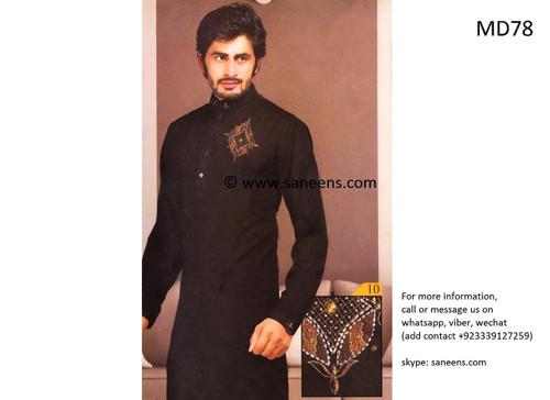 muslim men dress, pakistani clothes, pashtun groom suit