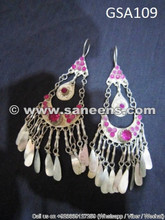 afghan muslim ladies earrings online