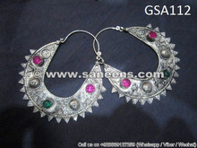 afghan fashion ethnic earrings