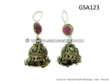 kuchi jewellery earrings for bellydance performers