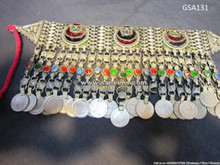 afghan tribal choker necklace