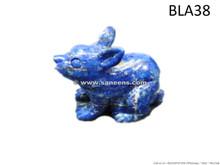 afghanistan lapis lazuli stone handmade rabbit