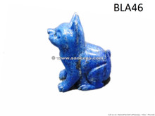 afghan lapis stone cat