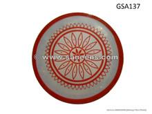 handmade bellydance tambourine