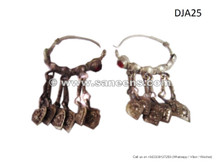 afghanistan tribal artwork earrings