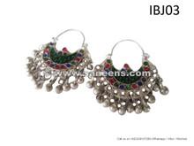 afghan jewelry earrings