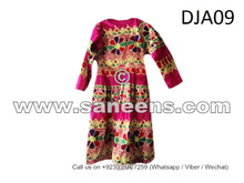 afghan kuchi dress, tribal ethnic frock