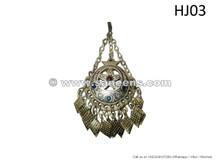 afghan kuchi jewelry pendant