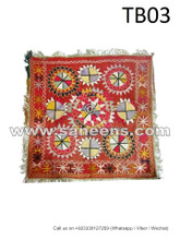 traditional afghan muslim tabletop, afghan hand embroidery