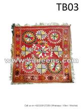 traditional afghan muslim tabletop, afghan hand embroidery