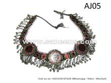tribal artwork belt, traditional afghan handcrafted belts for wholesale deal