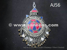 afghan forehead jewelry pendant, kuchi tribal bindi