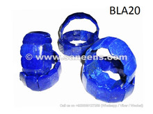 afghan lapis bangles, pure blue lapis bracelets, Lapis Lazuli