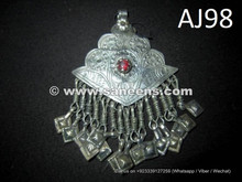 buy wholesale kuchi jewellery pendants with precious stones