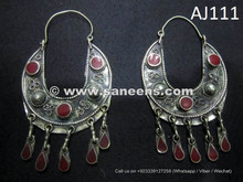 buy cairo bellydance goddess jewelry earrings in wholesale