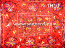 pure silk embroidered uzbek suzani costuming fabric