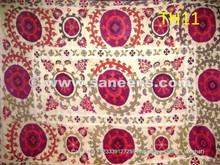 uzbek silk embroidered suzani