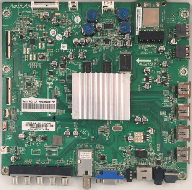 Vizio Main Board 3655-0412-0150