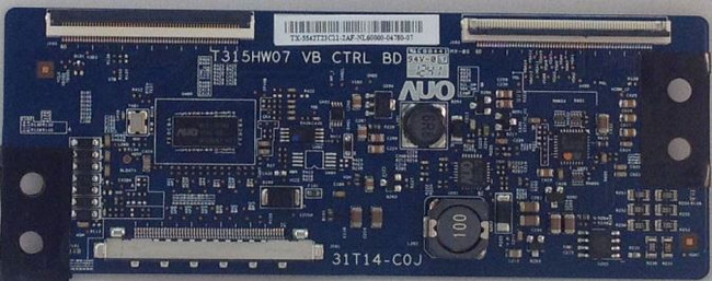 Vizio T-Con Board 55.42T23.C11 for E420i-A1 LTYWNRDN and E420i-A1 LTYWNRDP - Front