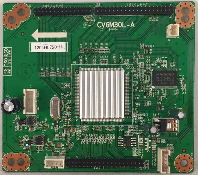Apex LD4077M PC Board 1204H0720 (CV6M30L-A)