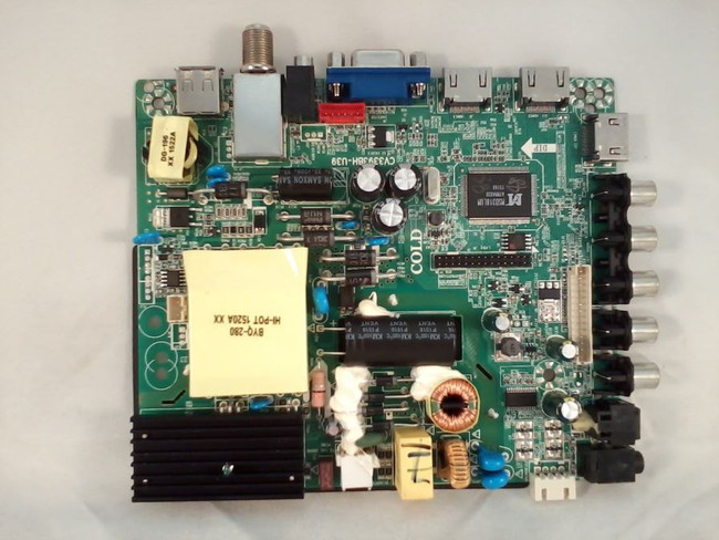 Element 34013994, 34014125, 34013674 Main Board / Power Supply (front)