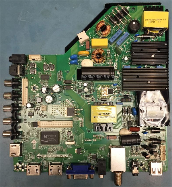 Element Y14090012 Main Board / Power Supply (front)