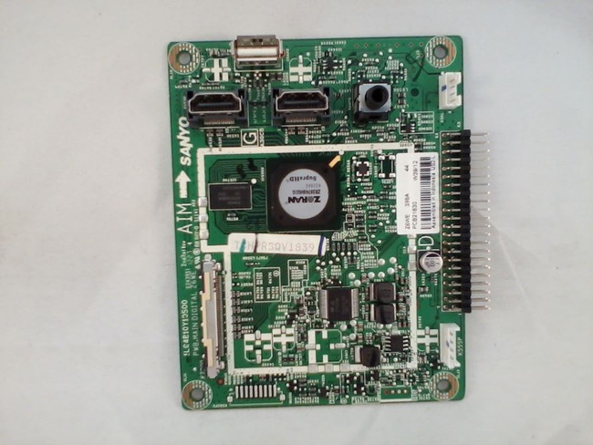 Sanyo 1LG4B10Y10500 Z6WE Digital Board (front)