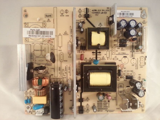 RCA RE46HQ1301 Power Supply / LED Board (front)