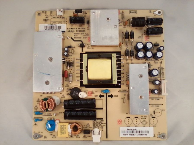 RCA RE46HQ0834 Power Supply / LED Board for PLD40A45RQ(front)