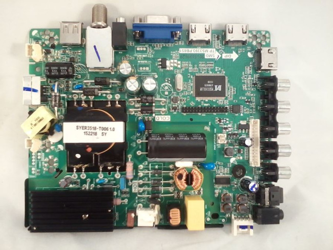 Element 34014087 Main Board / Power Supply (front)