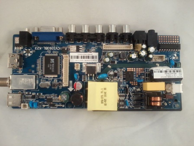 Seiki SY15166 Main Board / Power Supply (front)