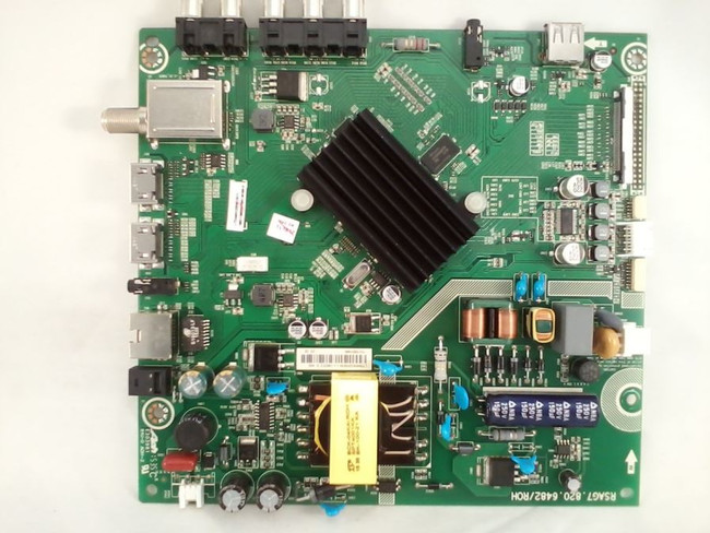 Hisense 186313 Main Board / Power Supply / T-Con Board for 40H5B (front)