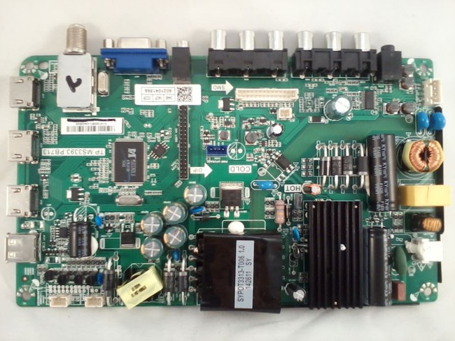 Haier 6021041866 Main Board / Power Supply (front)