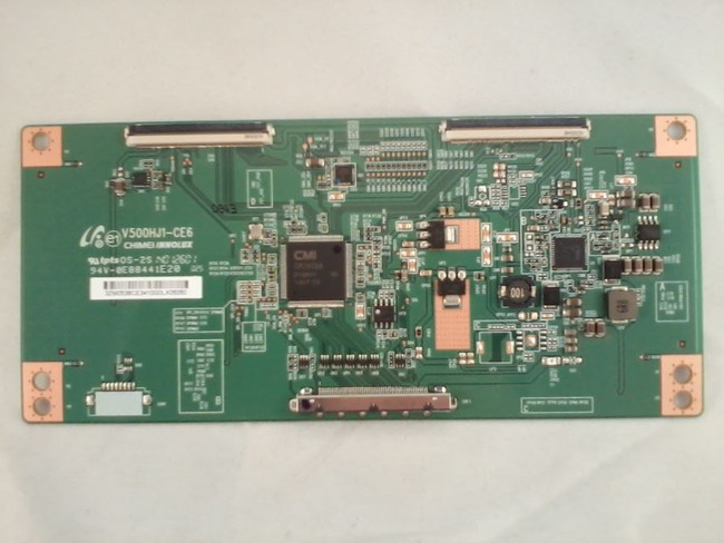 Philips / RCA / TCL V500HJ1-CE6 T-Con Board for LE50FHDF3010TATBAA, LED50B45RQ, LRK50G45RQ, 58PFL4609/F7(front)