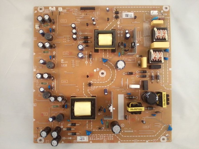 Philips / Magnavox A4DR2MPW-002 Power Supply / LED Board for 55MV314X/F7, 55MV314X/F7, 55PFL4909/F7, 55PFL4909/F7(front)