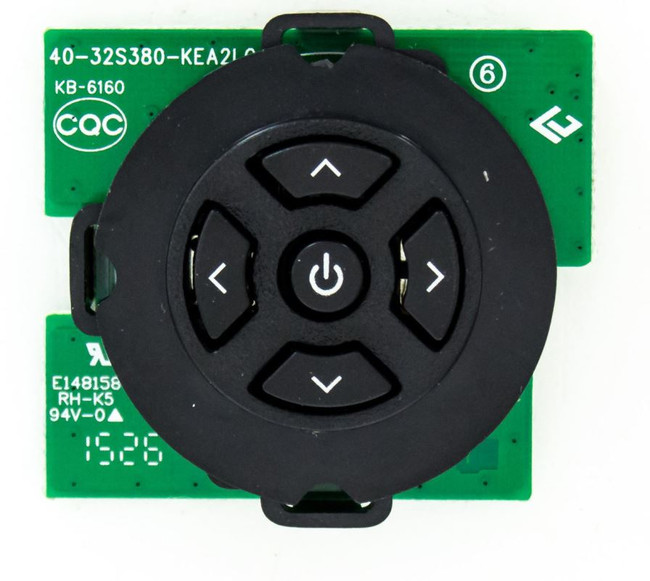 TCL 40-32S380-KEA2LG Button Assembly for 40FS3800