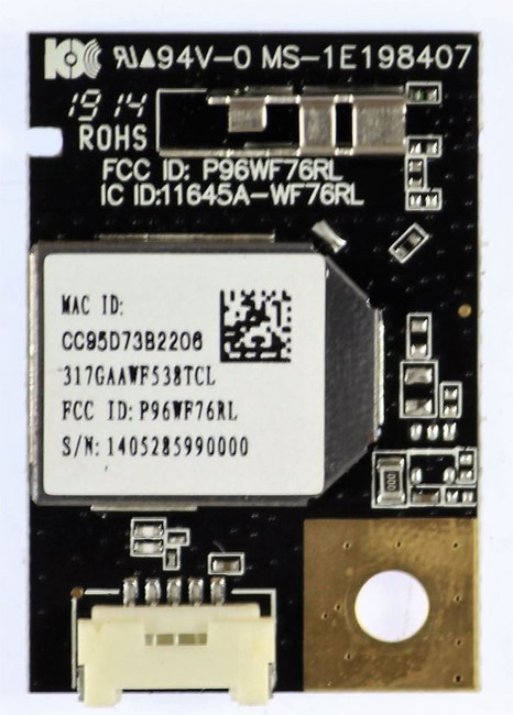 Vizio 317GAAWF538TCL Wi-Fi Module 1E198407 for E500I-B1 and E280I-B1