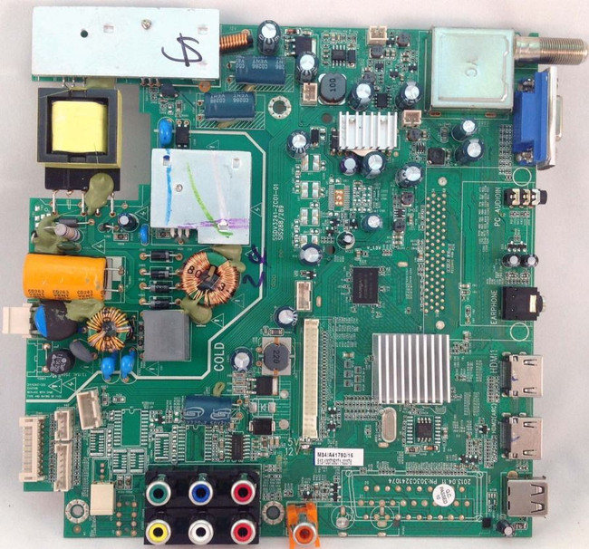 Westinghouse Main Board 2D.6S001.E23 Front