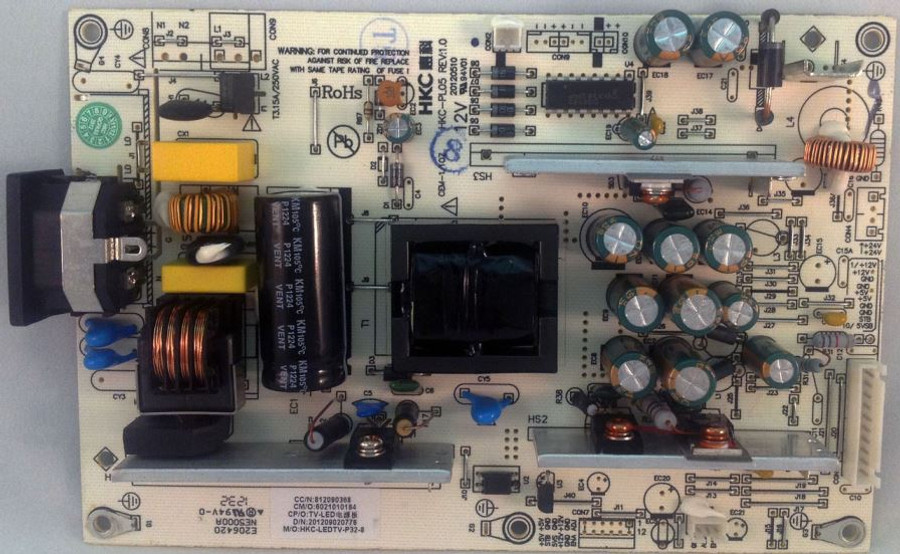 Apex HKC-PL05 Power Supply for LE3243 (812090368)