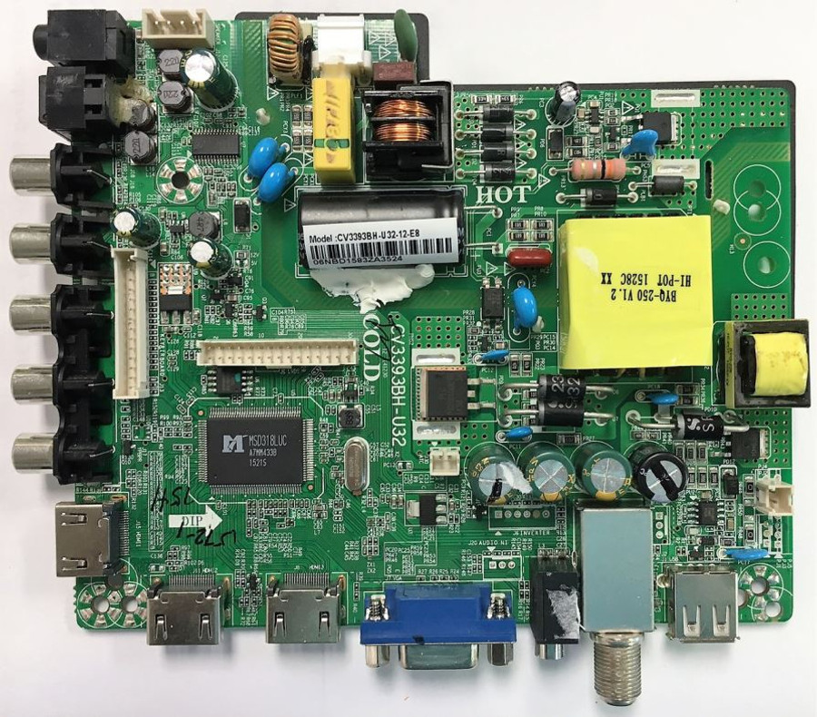 Element 57H1572 Main Board / Power Supply for ELEFW328B